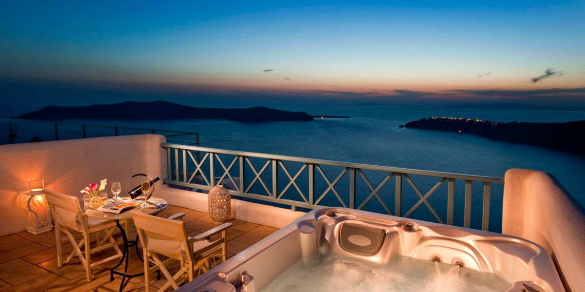 Honeymoon Suite Imerovigli Hotels Absolute Bliss